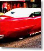 Frenched 55 Metal Print