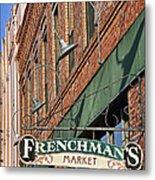 Frenchman's Market Metal Print