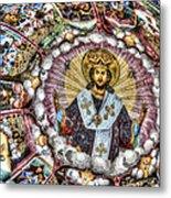 Fresco From Rila Monastery  Metal Print