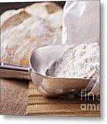Fresh Bread Metal Print