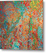 Fresh Dots Metal Print