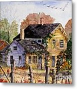 Fresh Eggs For Sale Metal Print by Marilyn Smith