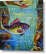 Fresh Fish Metal Print