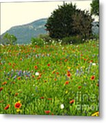 Fresh Flowers Metal Print