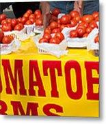 Cedar Park Texas Fresh Tomatoes Metal Print