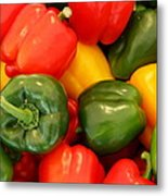 Fresh From The Market - Sweet Peper Mix Metal Print