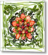 Fresh Fruit Salad Metal Print