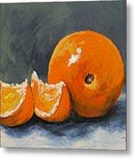 Fresh Orange IIi Metal Print by Torrie Smiley