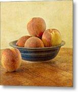 Fresh Peaches Metal Print