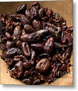 Fresh Roasted Cocoa Beans - Nibs Metal Print
