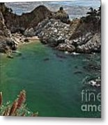 Fresh Water Into The Bay Metal Print by Adam Jewell