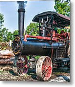 Frick Steam Tractor Metal Print