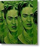 Frida 4u Metal Print