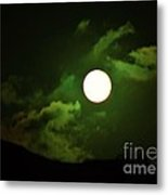 Friday The 13th Moon And Dragons Metal Print