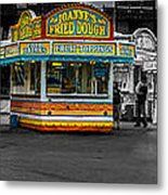 Fried Dough Metal Print