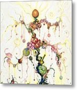Fried Pink Tomatoes Metal Print by Douglas Fromm