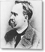 Friedrich Wilhelm Nietzsche In 1883 Metal Print