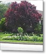 Friendly Green Gardens Of Cherryhill Nj America       Metal Print