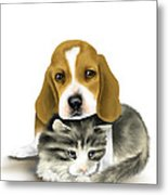 Friends Metal Print