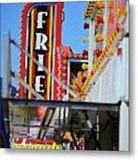 Fries At The Fair Metal Print