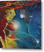 Fright Or Flight Metal Print