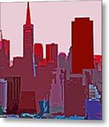 Frisco Skyline Metal Print