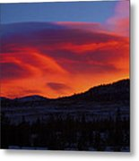 Frisco Sunrise Metal Print