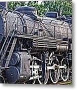 Frisco Train Locomotive Three Metal Print