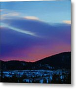 Frisco Twilight Metal Print
