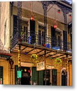 Fritzel's European Jazz Pub New Orleans Metal Print