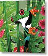 Frog 02 Metal Print