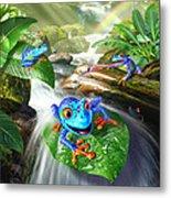 Frog Capades Metal Print