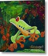 Frog Heaven Metal Print