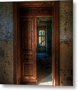 From A Door To A Window Metal Print