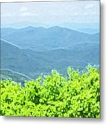 From Afar Metal Print