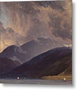 From Balestrand At The Sognefjord Metal Print