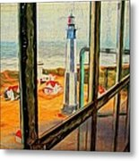 From Cape Henry Lighthouse Metal Print