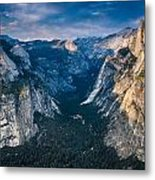 From Glacier Point Metal Print
