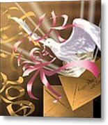 From Mom And Dad With Love Metal Print