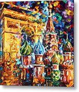 From Moscow To Paris Metal Print