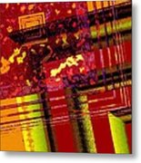 From Red To Brown Tones Metal Print by Mario Perez
