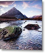 From River To Bauchaille Metal Print