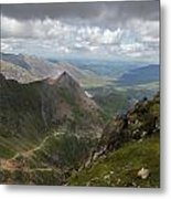 From Snowdon's Summit Metal Print
