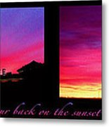 From Sunset To Sunrise Metal Print