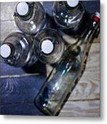From The Bottle Top Metal Print by John Grace