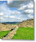 From The Castle To The Hills  Metal Print