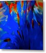 From The Deep Blue Metal Print