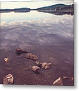 From The Depth Of Silence. Ladoga Lake  Metal Print