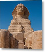 From The Feet Of The Sphinx Metal Print