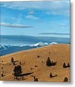 From The Hills To The Mountains Metal Print